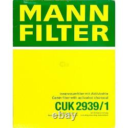 Huile moteur 5L MANNOL Defender 10W-40 + Mann-Filter VW Touran 1T1