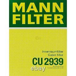 Huile moteur 5L MANNOL Elite 5W-40 + Mann-Filter VW Golf Plus De 5M1 521 1.6