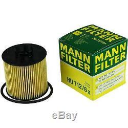 Huile moteur 5L MANNOL Elite 5W-40 + Mann-Filter VW Touran 1T1 1T2 1.6 FSI