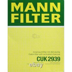 Huile moteur 5 L MANNOL Classic 10W-40+ MANN-FILTER Filtre VW Golf Plus 5M1 521