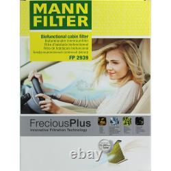 Huile moteur 5 L MANNOL Classic 10W-40+MANN-FILTER Filtre VW Golf Plus 5M1 521