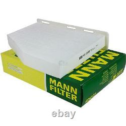 Huile moteur 6L MANNOL 5W-30 Break Ll + Mann-Filter VW Golf Plus 5M1
