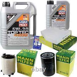 Inspection Set 6 L LIQUI MOLY Toptec 4200 5W-30 + Mann filtre Golf Plus