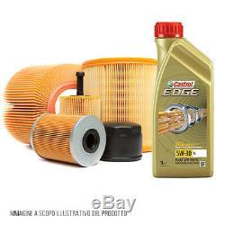 Kit 4 filtres 5 litres huile de moteur Castrol Edge 5W30 VW Touran 1.6 TDI