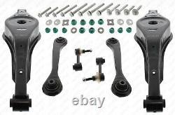 Kit Bras de Suspension Essieu Pour VW Golf 5/6 Touran Audi Passat 3C A3 8P