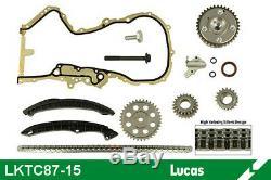 Kit chaîne de distribution LUCAS LKTC87-15 pour GOLF, TOURAN, A3, PASSAT, GOLF 5