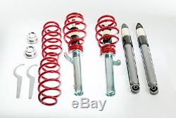 Kit combinés filetés reglables amortisseurs suspension Seat Altea 5P