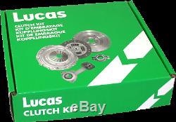 Kit d'embrayage LUCAS LKCA600059 pour GOLF, TOURAN, A3, PASSAT, LEON, SCIROCCO