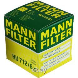 MANNOL 5 L Energy Premium 5W-30 + Mann-Filter Pour VW Golf Plus 5M1 521 1.4