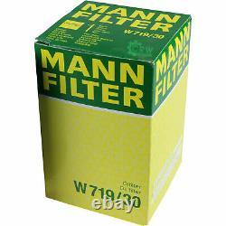 MANNOL 5 L Nano Tech 10W-40 huile moteur + Mann Pour VW Golf Plus De