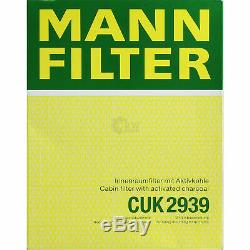 Mannol 5L Extreme 5W-40 Huile Moteur + Mann-Filter Filtre VW Touran 1T1