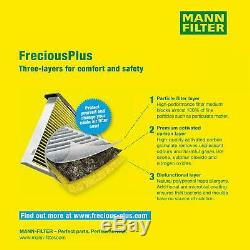Mannol 5L Extreme 5W-40 Huile Moteur + Mann-Filter VW Touran 1T1 1T2 1.4 TSI