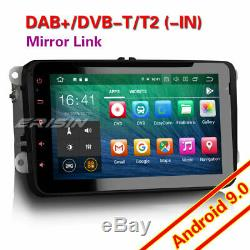 Octa Core Android 9.0 Autoradio DAB+GPS for VW PASSAT GOLF TOURAN EOS POLO CD+4G