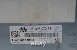 Orig. VW Golf 6 Cbz Clapet D' Cbza 63 77 Kw Unité de Contrôle Du Moteur