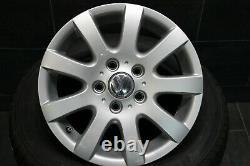 Original VW Touran Golf 5 6 Plus Jantes 6,5J X 15 Pouces 1K0601025A Et 50