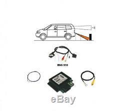 Pour VW Rns 315 510 Original Kufatec Caméra de Recul Interface+ Faisceau Câbles