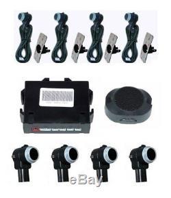 Premium Aide au Stationnement 4x Capteur Avertisseur de Recul Pdc Parc 18mm