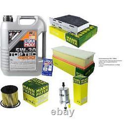Révision D'Filtre LIQUI MOLY Huile 5L 5W-30 Pour VW Touran 1T1 1T2 1.4 TSI