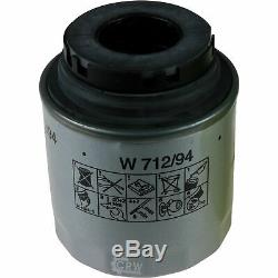 Révision D'Filtre Liqui Moly Huile 10L 5W-30 pour VW Touran 1T3 1.4 Sti