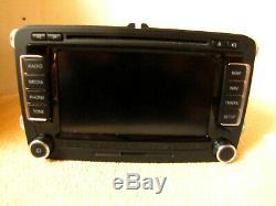 Rns 510 1T0035680B VW Golf V, Golf Plus, Passat 3C, Touran, Tiguan GPS Radio