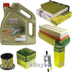 Sketch D'Inspection Filtre Castrol 5L Huile 5W30 Pour VW Touran 1T1 1T2