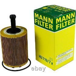 Sketch D'Inspection Filtre Castrol 5L Huile 5W30 Pour VW Touran 1T1 1T2 2.0 Tdi