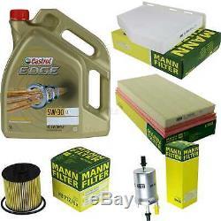 Sketch D'Inspection Filtre Castrol 5L Huile 5W30 pour VW Touran 1T1 1T2 1.6