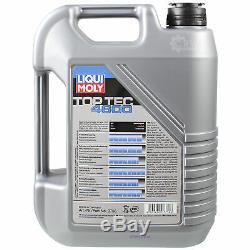 Sketch D'Inspection Filtre Huile Liqui Moly 5L 5W-30 pour VW Touran 1T1 1T2