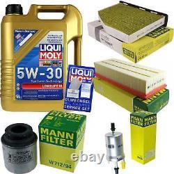Sketch D'Inspection Filtre Huile Liqui Moly Huile 5L 5W-30 Pour VW Touran 1T3