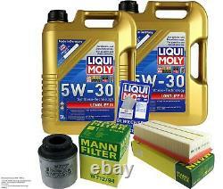 Sketch D'Inspection Filtre Liqui Moly Huile 10L 5W-30 Pour VW Touran