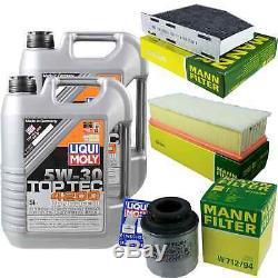 Sketch D'Inspection Filtre Liqui Moly Huile 10L 5W-30 pour VW Touran 1T3 1.4 Sti