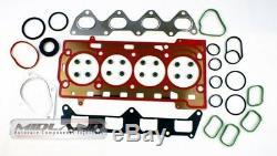 Tête Joint Set + Boulons pour VW Golf Jetta Touran 1.4 TSI 16v Moteur Bmy Blg