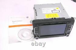 VW Passat 3C Golf 5 Touran Radio CD RCD510 3C8035195F Avec Code Carte SD