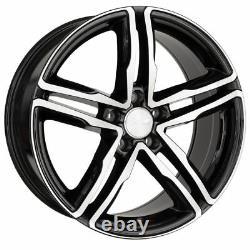 Wheelworld WH11 8x18 5x112 ET45 Sp + Noir Polie VW Golf Passat Tiguan Touran