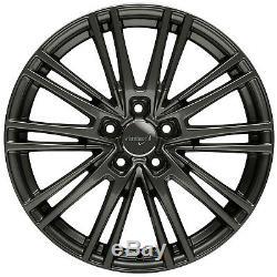 Wheelworld WH18 8,5x19 5x112 Et45 Dgm + Sombre Gunm. VW Golf Passat Tiguan