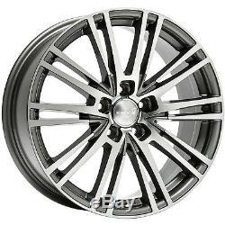 Wheelworld WH18 8x18 5x112 ET45 Dgp + Gris Pol. VW Golf Passat Tiguan Touran Eos